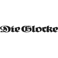Die Glocke Logo grau