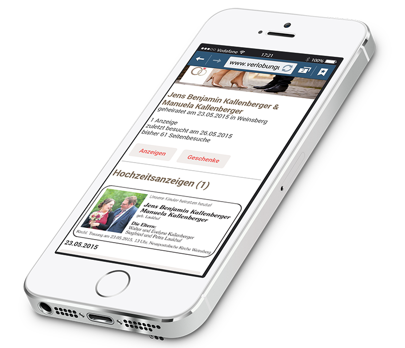 VRS Media Familienanzeigenportal mobile Version, vrs.FamilyMarkets