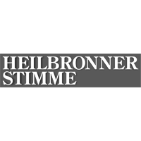 Heilbronner Stimme Logo grau