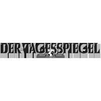 Der Tagesspiegel Logo grau