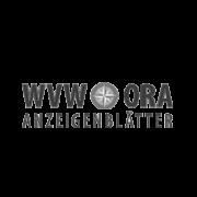 Logo WVW ORA Anzeigenblaetter grau