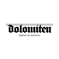 Logo Dolomiten grau