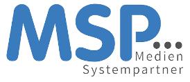Logo MSP - Medien Systempartner, Partner von VRS Media