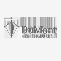 DuMont Logo grau