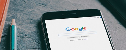 Newsbild MockUp Google