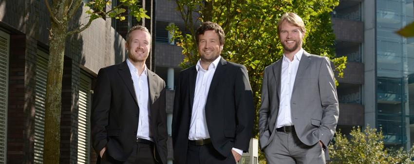Die VRS Media Geschaeftsführer - Thorsten Reinhold, Norman Voelzke und Lars Segelke