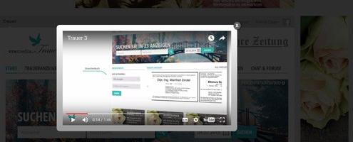 Miniatur Newsbild Praesentationsfilm Trauerportal-Showcase VRS Media