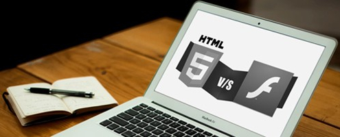 Newsbild Flash vs. HTML5